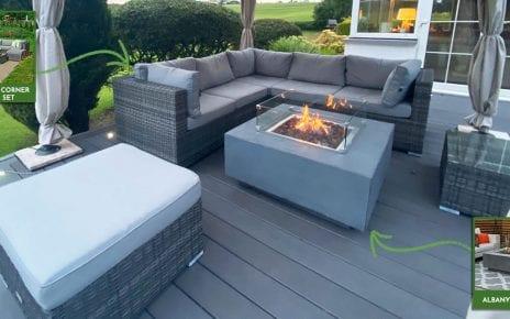 Chelsea Corner Sofa Set & Albany Fire Pit - Customer Review