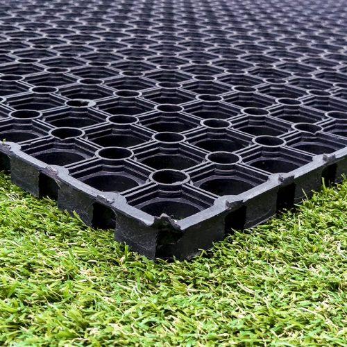 Non-Slip Rubber Grass Mats