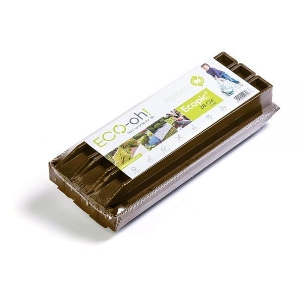 Brown EcoPics - 10 pack