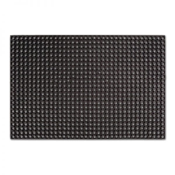 Rubber grass mats 150x100cm 16mm whole mat view
