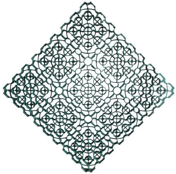 1m² Green X-Grid