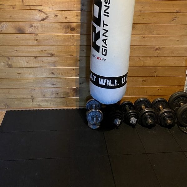 Rubber Gym Flooring - Rubber Gym Mats In Use