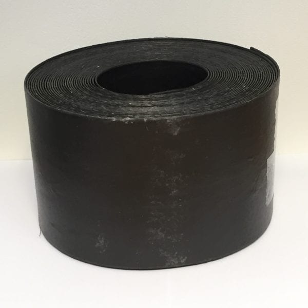Black Plastic Lawn Edging Roll