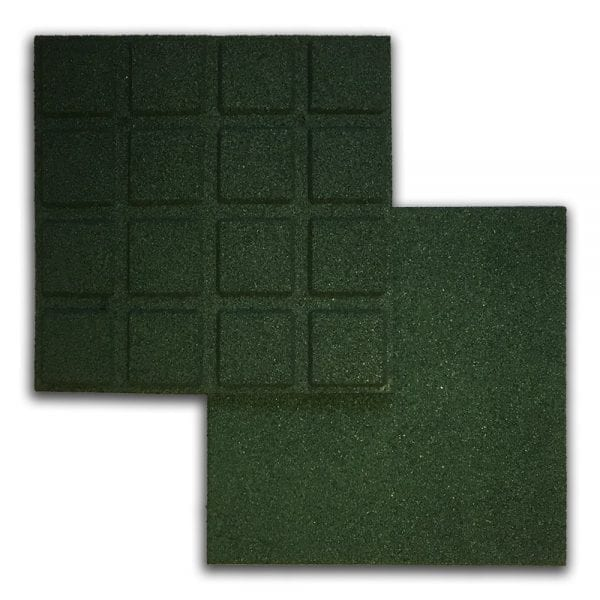 Green Rubber Tile - Above & Below