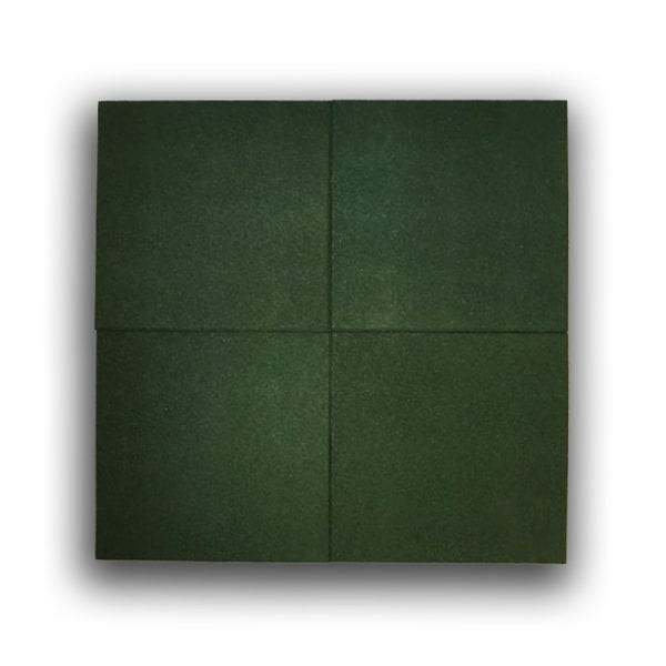 Green Rubber Tile - Above