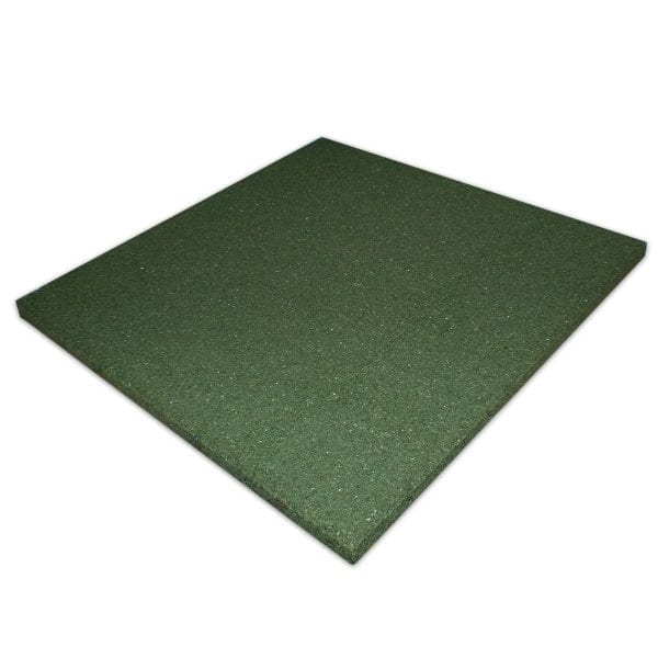 Green Rubber Tile