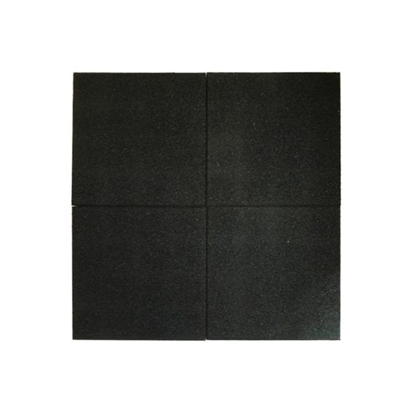 Black Rubber Tile From Above