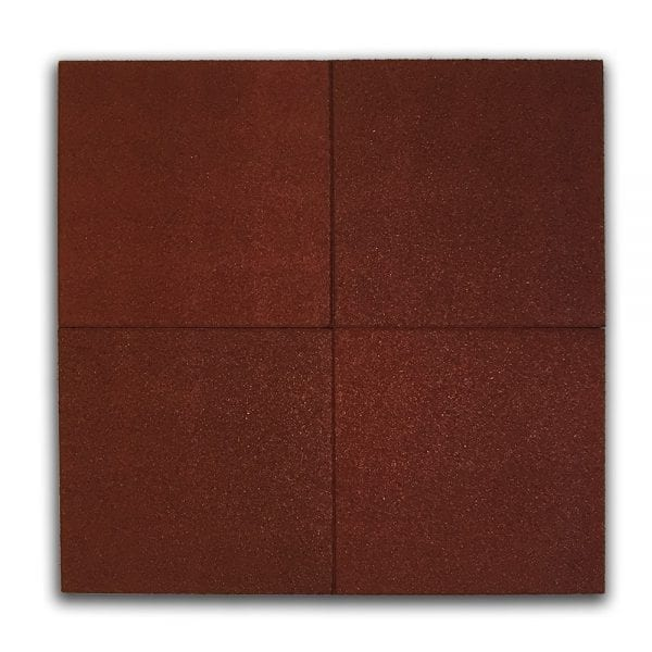Red Rubber Tile Above