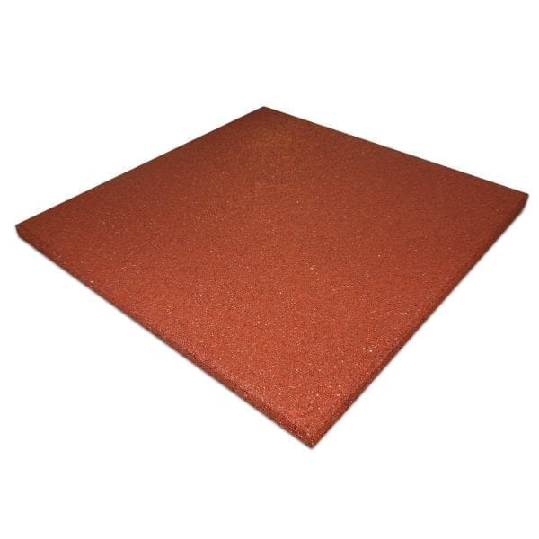 Rubber Tile Red
