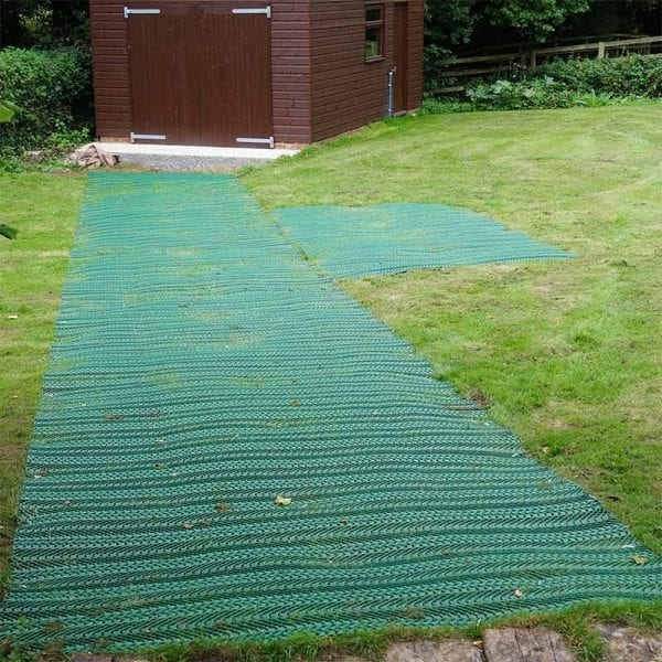 TurfMesh Access Route Installed