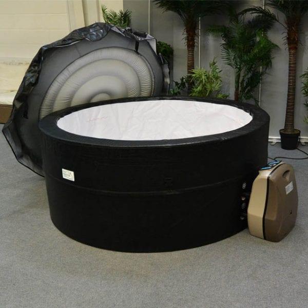 Westgate Foam Hot Tub - Lid Off