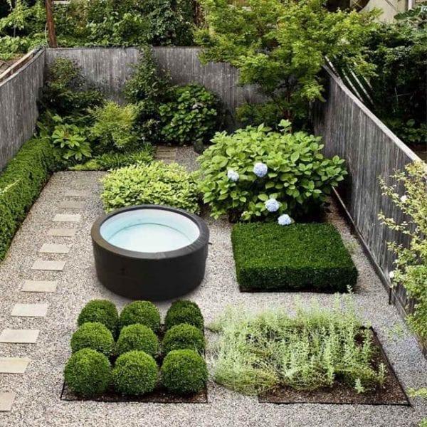 Westgate Foam Hot Tub - Lifestyle In Garden