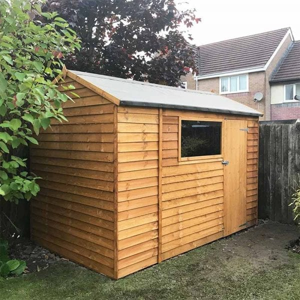 10ft x 6ft Plastic Shed Base Kit With Shed