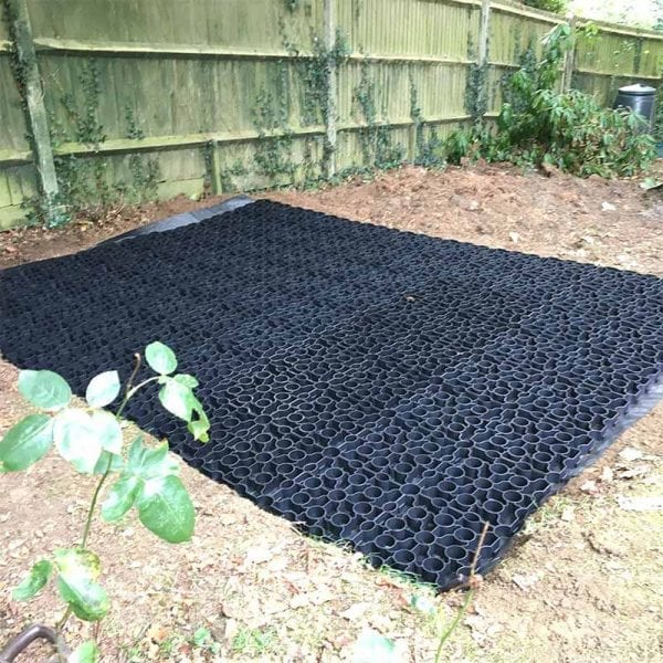 10ft x 8ft Plastic Shed Base Laid