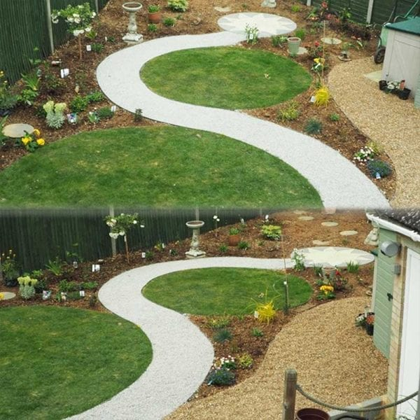 EcoLat Installed Back Garden