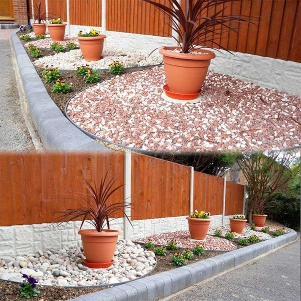 EcoLat Installed Front Garden