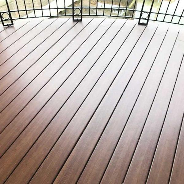 Elegrodeck Blake Oak Balcony Install