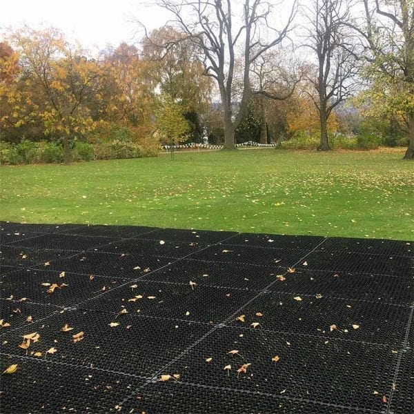 Rubber Grass Mats - Temporary Paving At Events