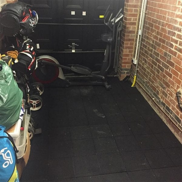 Rubber Gym Mats - Garage Gym