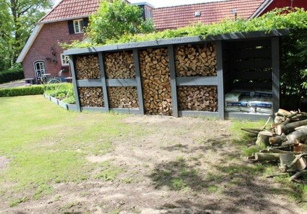 RecoPlank Log Storage Shelter