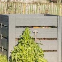 Compost bin and compost bins