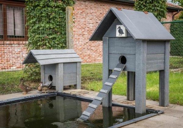 RecoPlank Bird House