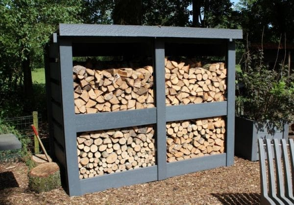 RecoPost Used to construct a log storage shelter