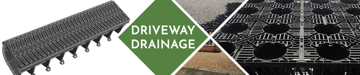Driveway Drainage | Soakaway Crates & Channel Drainage Systems