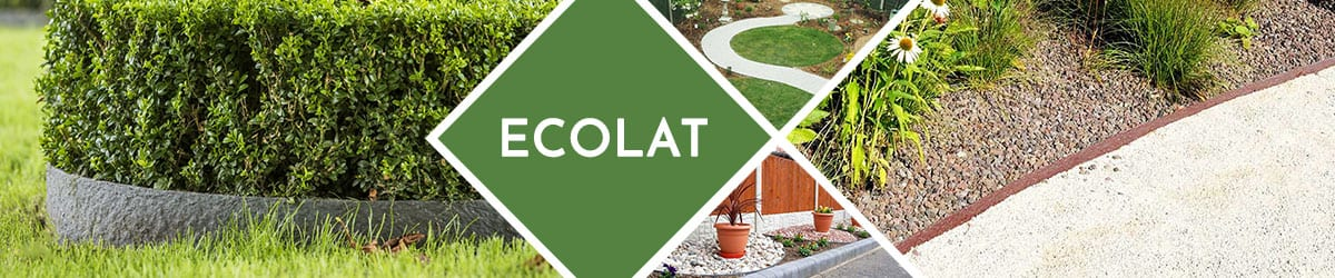 EcoLat | Strong, luxury and fully recycled plastic edging product