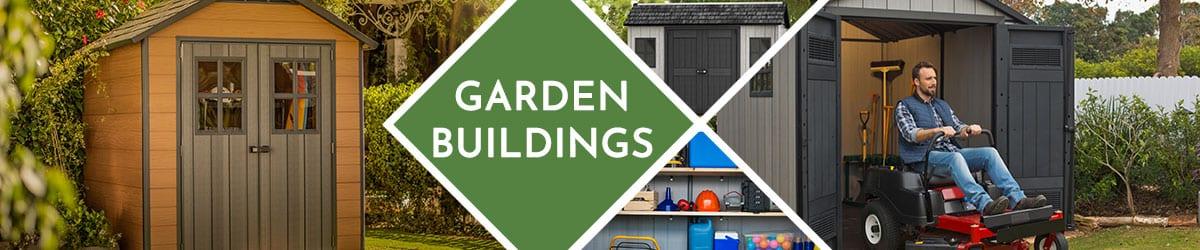 Garden Buildings | Plastic Garden Sheds | Garden Storage
