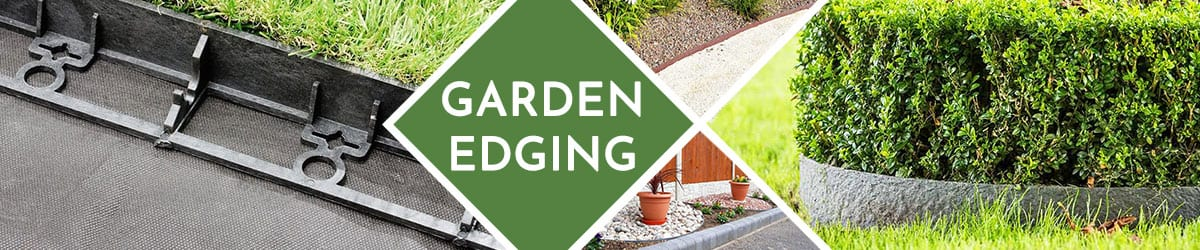 Garden Edging | Ideal for creating strong & decorative separations