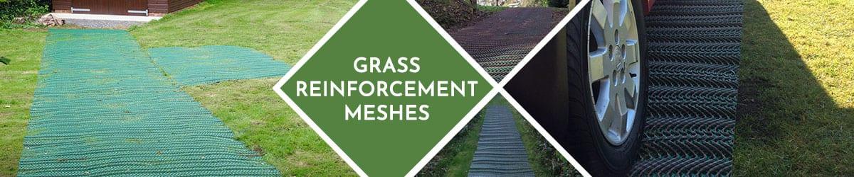 Grass Reinforcement Mesh | Support Pedestrians & Vehicles
