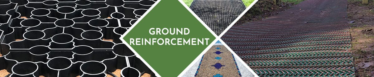 Ground Reinforcement Grids For Strong & Permeable Surfacing