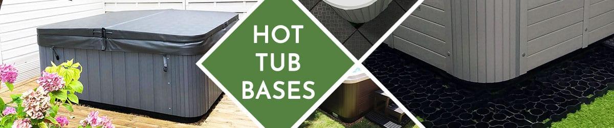 Hot Tub Base | Bases & foundations for hot tubs, jacuzzis & spas