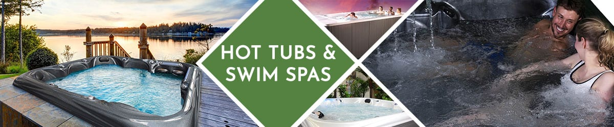 Hot Tub and Swim Spas | The Garden Range