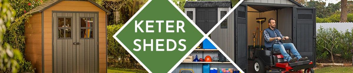 Keter Shed | Plastic Sheds | Keter Storage Shed
