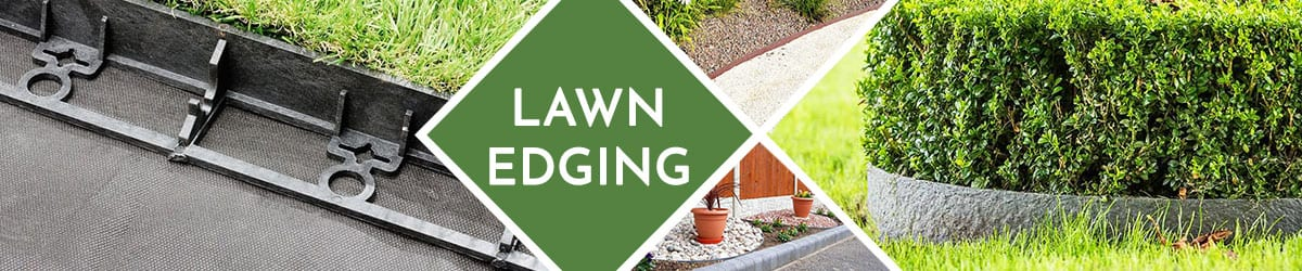 Lawn Edging | Edging products to keep your lawn looking beautiful