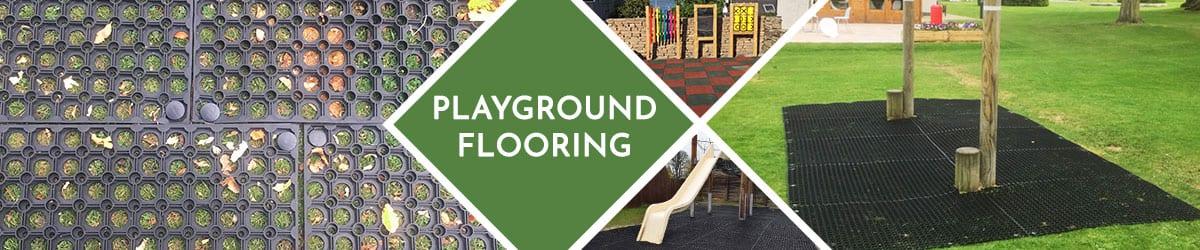 Playground Flooring | Rubber play tiles & grass mats