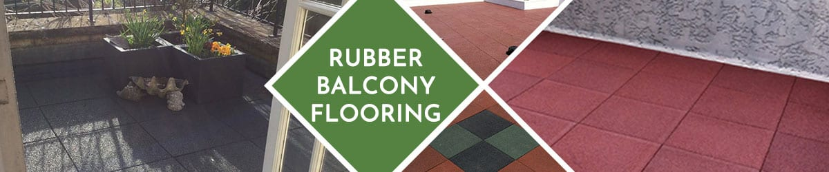Balcony Flooring | Soft & durable rubber flooring tiles