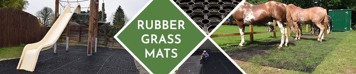 Rubber Grass Mats | Ideal for flooring, play areas & more