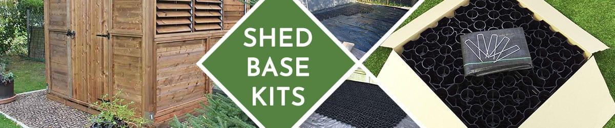 Shed Base Kit | Plastic Shed Bases