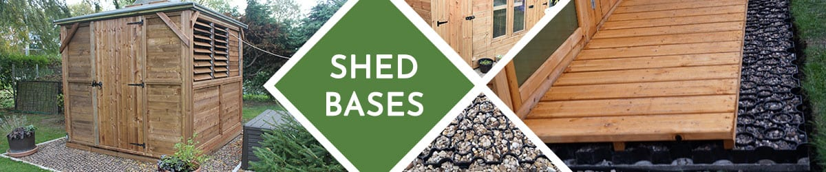 Shed Base | Foundations for your sheds or garden buildings