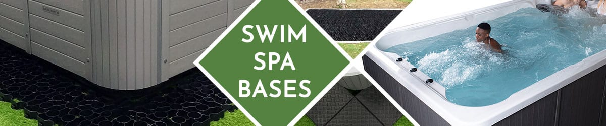 Swim Spa Base | 100% recycled plastic bases for swim spas | Swim spa foundation