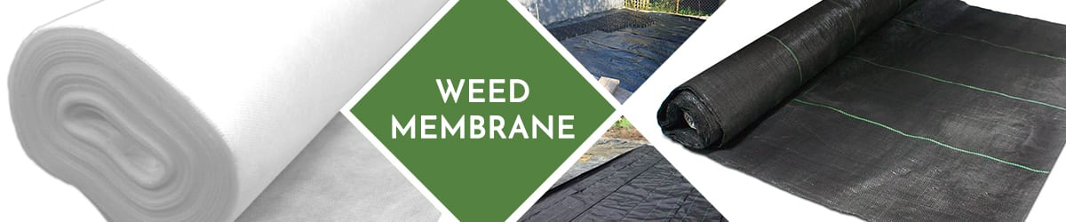 Weed Membranes | Stop weed growth & allow natural drainage