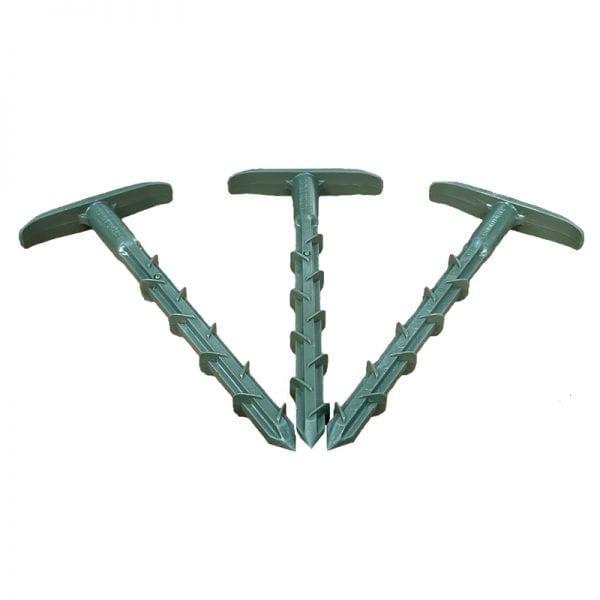 Anti-Pull Anchor Peg Green - 50pk
