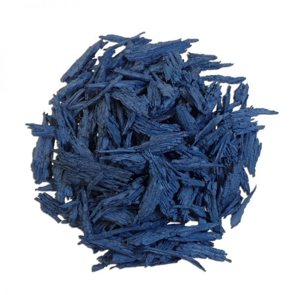 Blue Mulch - White Background
