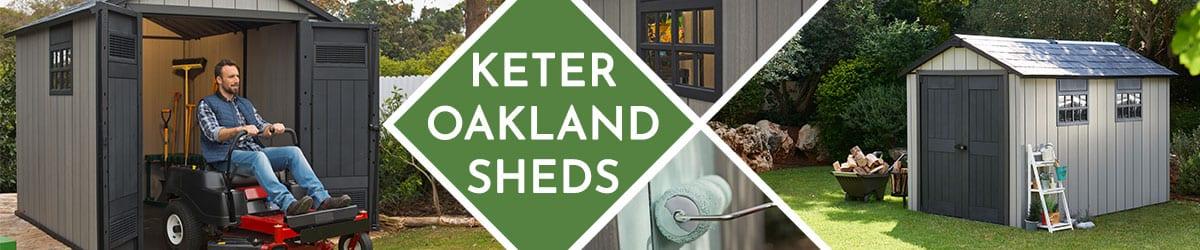 Keter Oakland Sheds | Oakland Shed Range