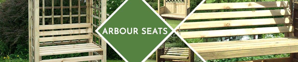 Arbour Seats | Garden Arbours | Wooden Arbours