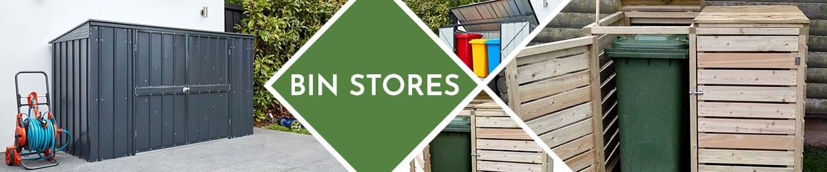 Bin Stores | Wheelie Bin Storage