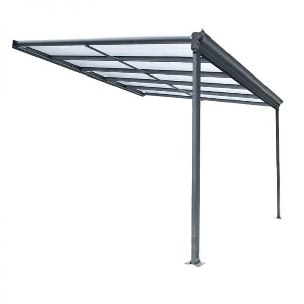 Carport 10x10 Lean To Patio Cover Kingston 1
